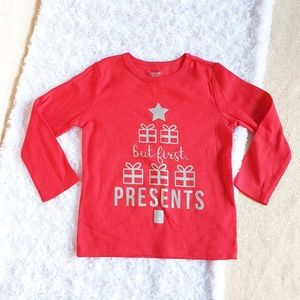 Nwot just one you by Carter's present girl shirt